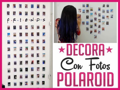 Decora Con Fotos Polaroid
